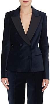 A.L.C. Women's Stanton Velvet Double-Breasted Blazer