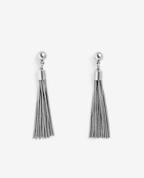 Ann Taylor Mini Tassel Earrings