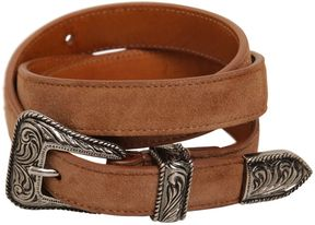 20mm Suede Western Belt