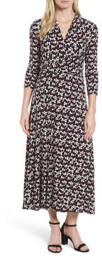 Chaus Dot Print Midi Dress