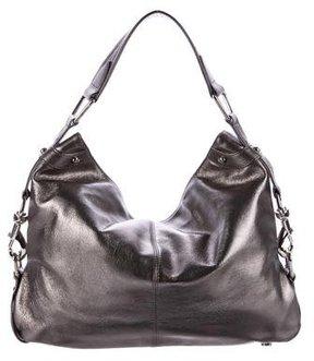 Rebecca Minkoff Metallic Leather Hobo - METALLIC - STYLE