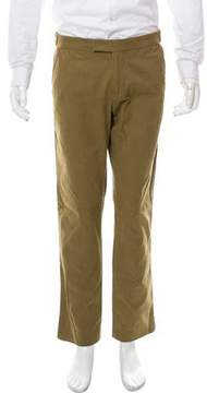 Michael Bastian Contrast-Trimmed Slim-Fit Pants
