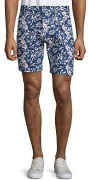 Slate & Stone Floral-Print French Terry Shorts