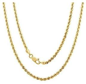 Alpha A A 14kt Yellow Gold Rope Chain, 24