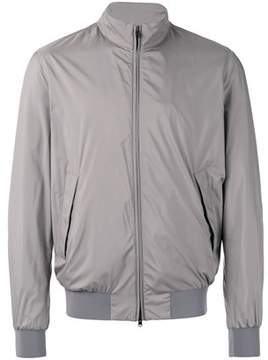 Herno Men's Brown Polyester Outerwear Jacket.