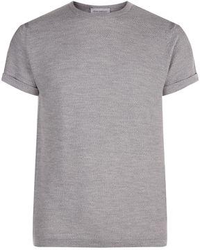 John Smedley Textured Merino T-Shirt