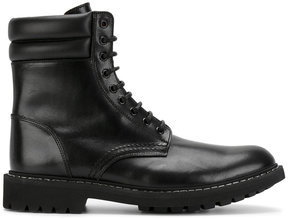 Givenchy lace-up army boots