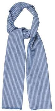 Donni Charm Striped Chambray Scarf w/ Tags