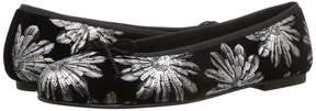 French Sole Pearl-Velin Women's Dress Flat Shoes