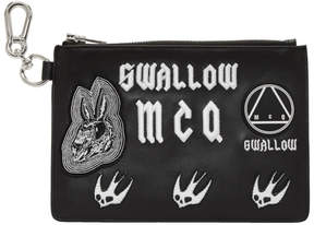 McQ Black Multi Patch Pouch