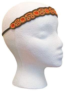 Pink Pewter Coral Stretch Headband