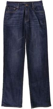 Lucky Brand Mens Faded Straight Leg Jeans Blue 30x34