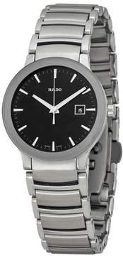 Rado Centrix Black Dial Stainless Steel Unisex Watch