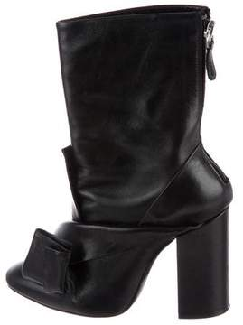 No.21 No. 21 Leather Bow Booties