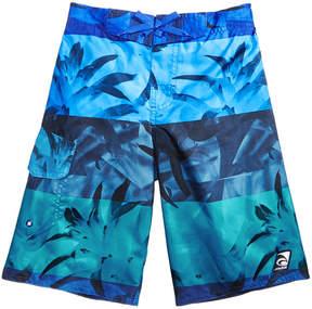 Trunks Laguna Excala Moana Printed Swim Trunks, Big Boys