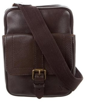 Louis Vuitton Utah Yuma Messenger Bag - BROWN - STYLE