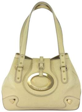 Dolce & Gabbana Cream Textured Leather Purse - CREAM - STYLE