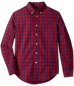 Polo Ralph Lauren Checked Cotton Poplin Shirt Boy's Clothing