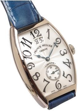 Franck Muller Master Square white gold watch