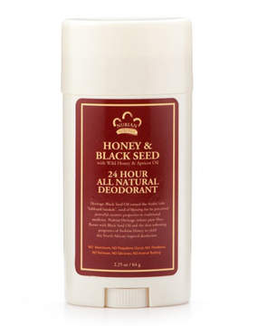 Nubian Heritage Honey + Black Seed 24hr Deodorant Stick by 2.25oz Deo Stick)