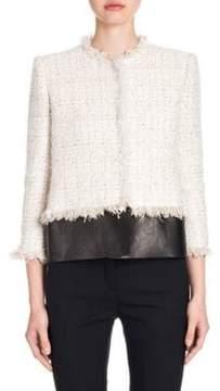 Alexander McQueen Soft Tweed Jacket