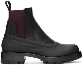 Marni Black Chelsea Boots