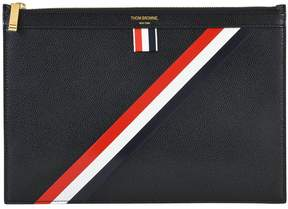 Thom Browne Striped Clutch