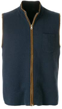 N.Peal reversible cashmere gilet