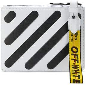 Off-White Diag double flat pouch