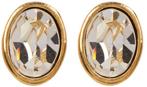 Carolee Small Oval Stud Earrings