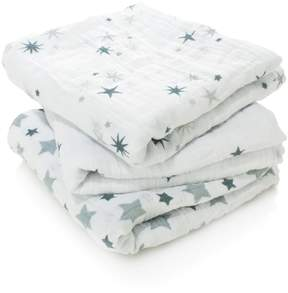Aden Anais Aden & Anais Twinkle Muslin Cloths (Set of 3)