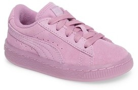 Puma Infant Girl's Suede Iced Sneaker