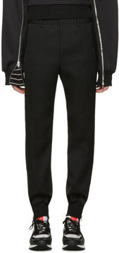 Juun.J Black Side Zip Trousers
