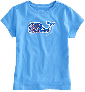 Vineyard Vines Girls Stars & Whales Tee