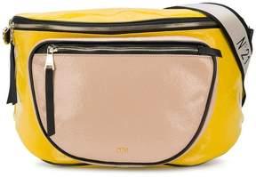No.21 colour-block belt bag