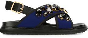 Marni 'Fussbett' embellished sandals
