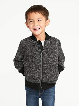 Old Navy Sherpa-Lined Bomber Jacket for Toddler Boys