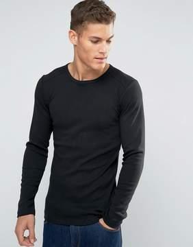 Esprit Long Sleeve Top In Slim Fit