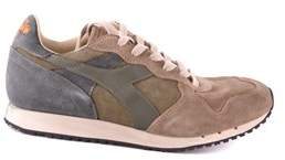 Diadora Heritage Men's Beige Suede Sneakers.