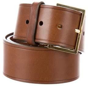 Tory Burch Leather Buckle Belt