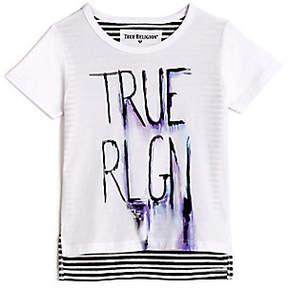 True Religion SKETCH KIDS TEE