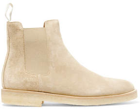 Common Projects Suede Chelsea Boots - Cream