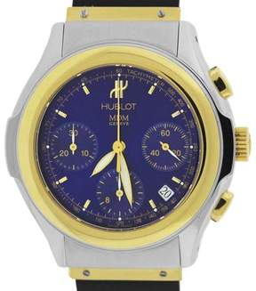 Hublot MDM Chronograph 1810.2 18K Yellow Gold / Stainless Steel & Rubber 40mm Mens Watch