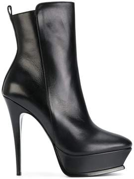 Saint Laurent platform ankle boots