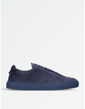 Givenchy Knot suede lace-up sneakers