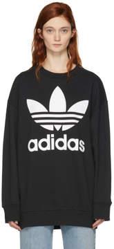 adidas Black Logo Oversized Sweatshirt