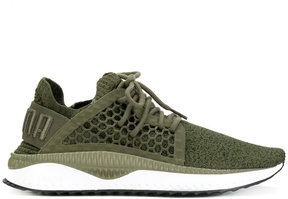 Puma perforated detail sneakers