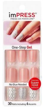 Broadway Nails imPRESS® Press-On Manicure® - Shimmer