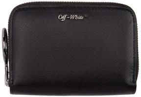 Off-White Black Logo Wallet