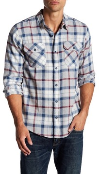 Burnside Plaid Regular Fit Flannel